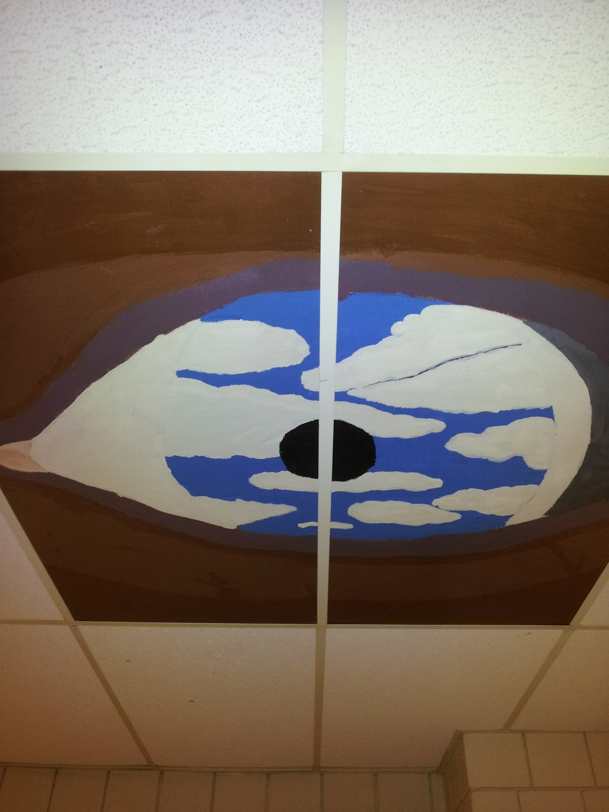 One Point S Perspective Ceiling Tiles Not Just For