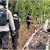 Polisi Jayapura Patroli Di Skouw Perbatasan RI-PNG, Cek Jalan Tikus Yang Digunakan Pelintas Batas Ilegal