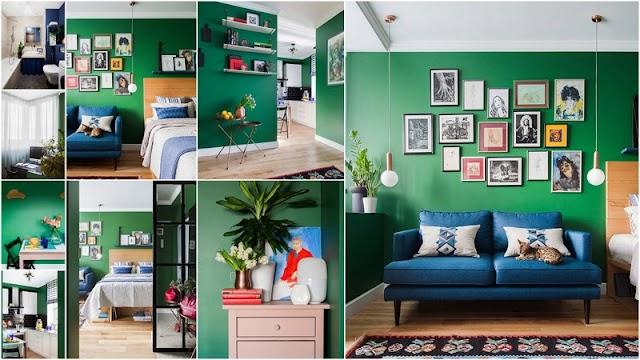 Ένα διαμέρισμα μόλις 28τμ διαμορφωμένο και διακοσμημένο εξαιρετικά