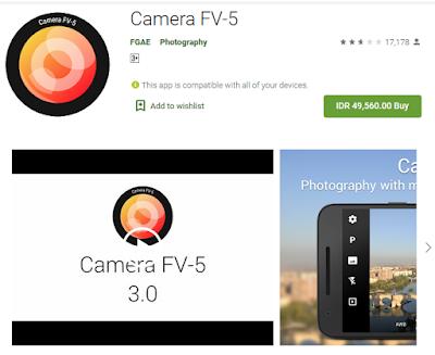 Applikasi Camera FV-5