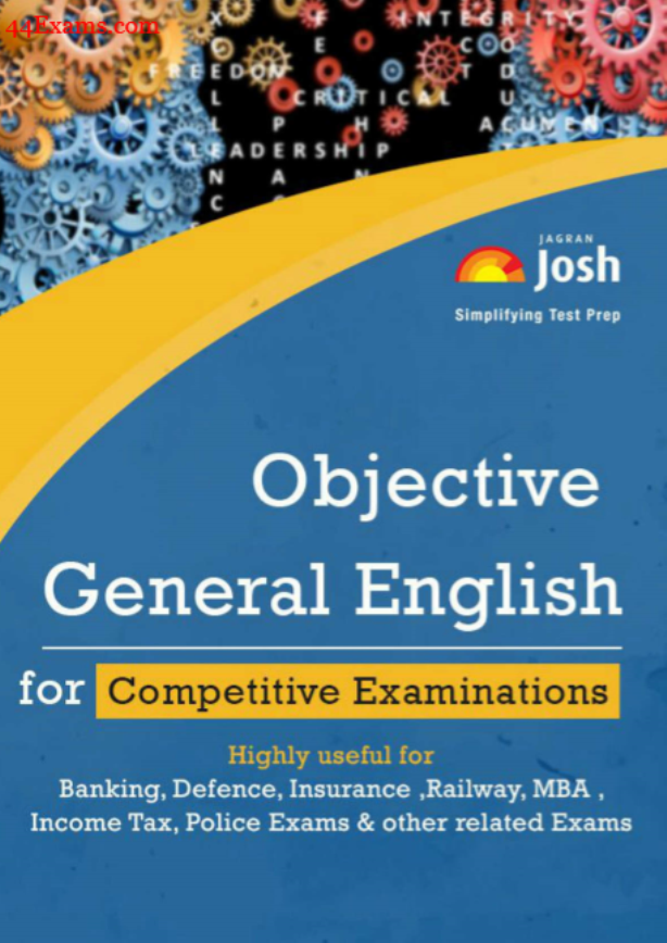 Objective General English by Jagran Josh : For All Competitive Exam PDF Book