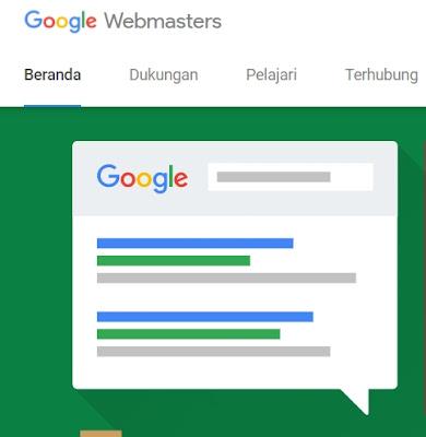 Cara daftar webmaster tool google