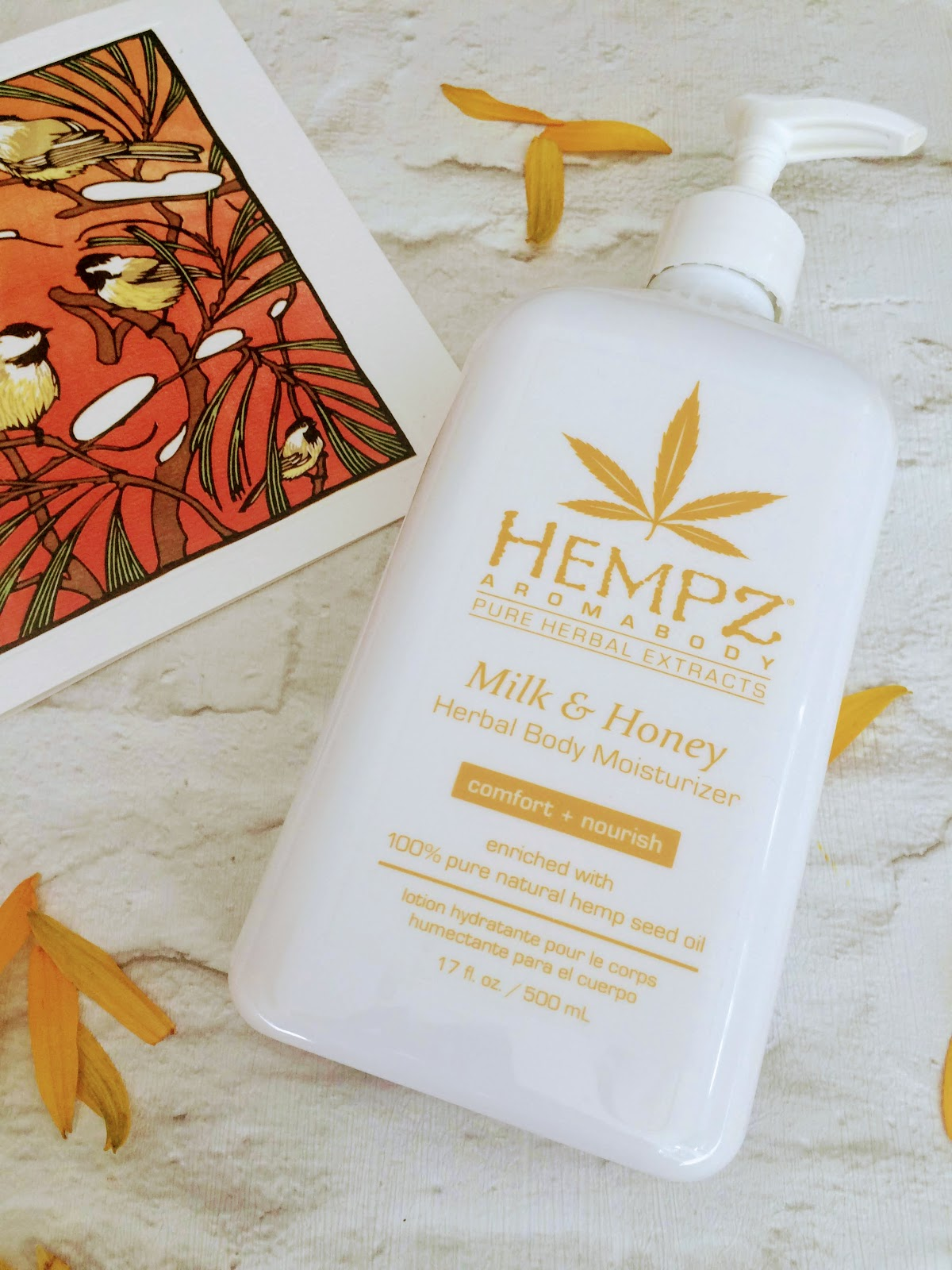 Hempz Milk & Honey body moisturser