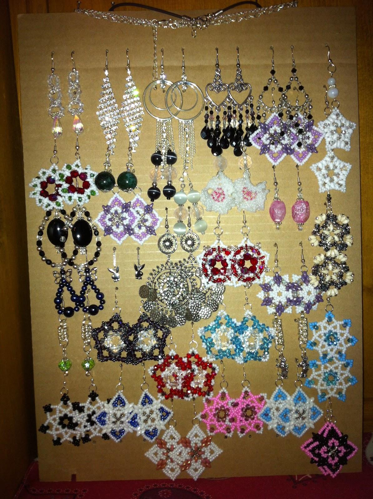 Estremamente Marina Perino Official: I miei espositori per gioielli fai da te PV77