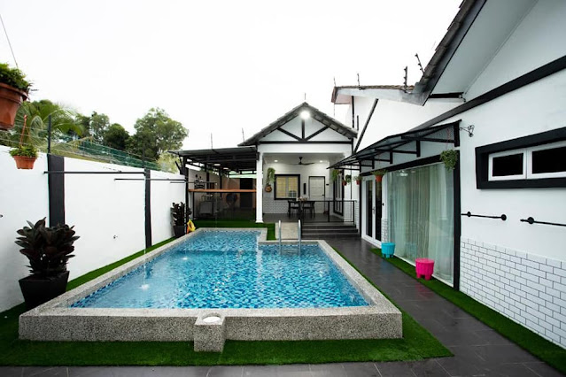 Guest House/Homestay 7 Bintang yang lengkap dengan kemudahan Swimming Pool
