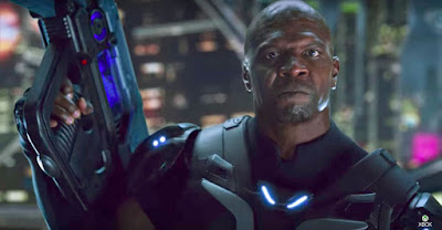 Terry Crews o pai do Chris