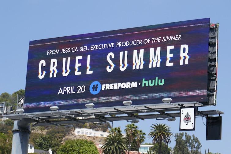 Cruel Summer series premiere billboard