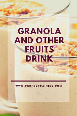 Granola and other fruits: