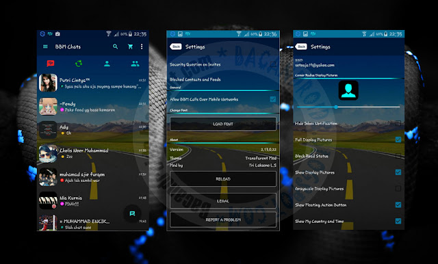 download BBM Mod Transparan Apk Theme