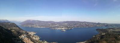 panorama Lago d'Orta da Madonna del Sasso