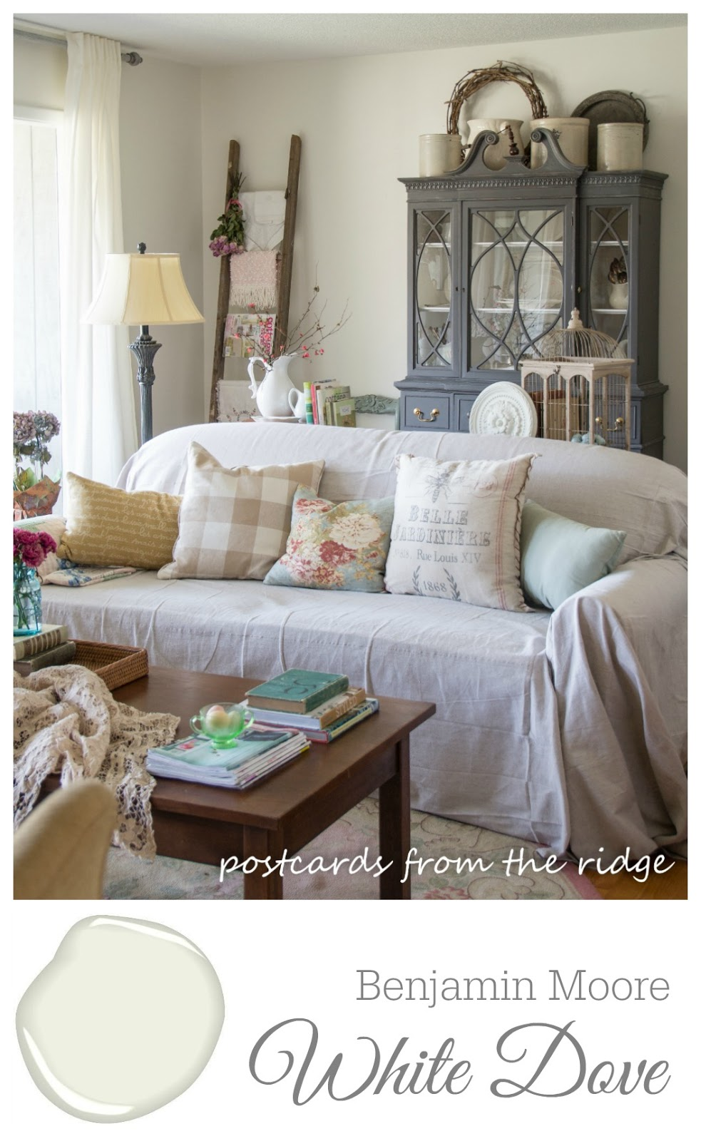 My paint colors postcards from the ridge - Benjamin moore paint for living room ...