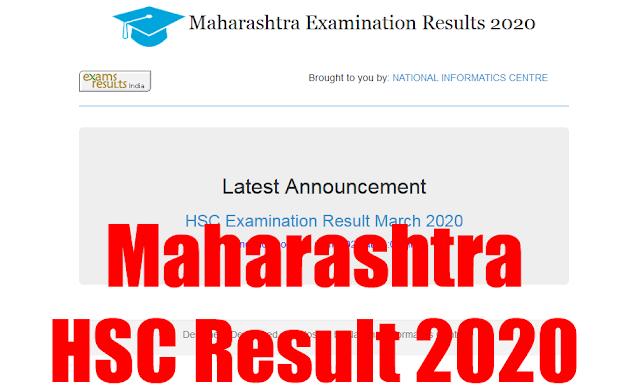 Maharashtra HSC Result 2020 || Maharashtra HSE Result 2020 || Maharashtra 12th Result 2020 @ mahresult.nic.in