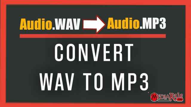 Cara mengubah wav ke mp3