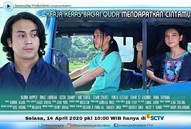 Daftar Nama Pemain FTV Kerja Keras Bagai Quda Mendapatkan Cintamu SCTV Lengkap