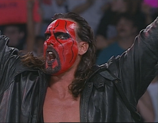 WCW Halloween Havoc 1998 - Wolfpac Sting looks terrible with a goatee