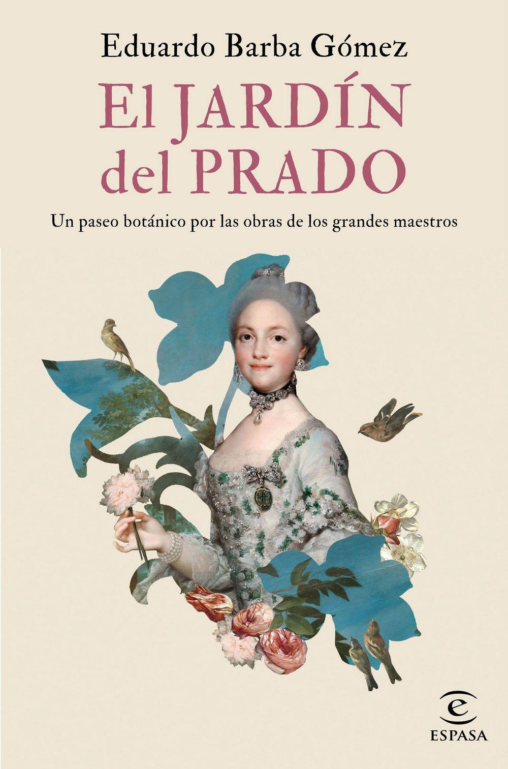 Libro sobre plantas, flores y frutos que se encuentran en las pinturas del Museo del Prado