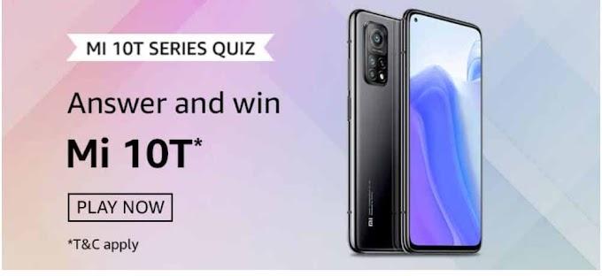 Amazon Mi 10T Series Quiz Answers