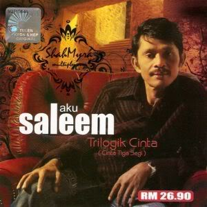 Lirik Lagu Cinta Tiga Segi – Saleem