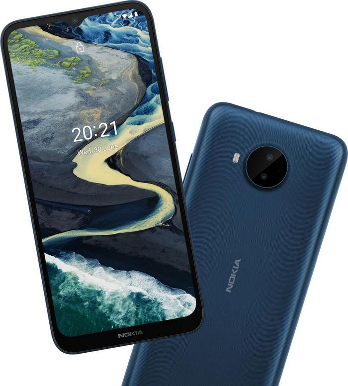 Mavi Nokia C20 Plus