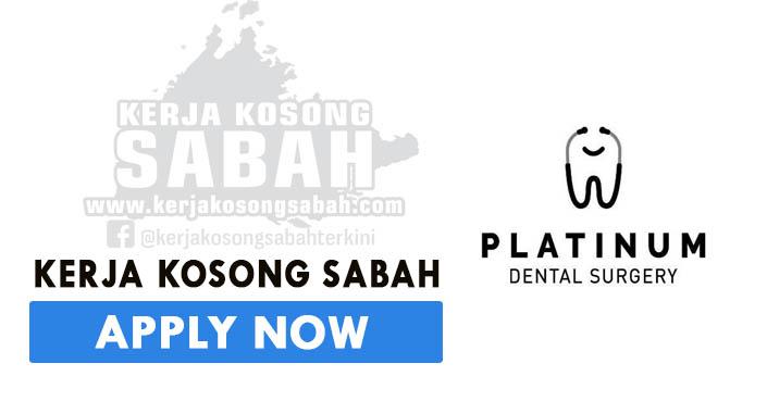 Kerja Kosong Sabah 2021 | DENTAL SURGERY ASSISTANT