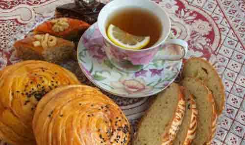 Makanan penutup terbaik Azerbaijan dipanggang selama liburan Novruz.