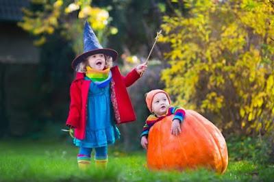 Halloween Pumpkin picture for Kids