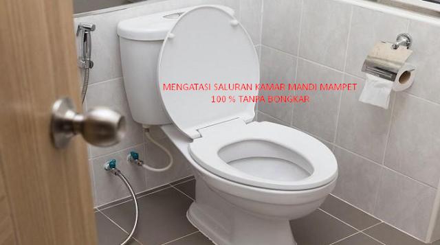 Jasa Saluran Kamar Mandi Mampet Pondok Gede 08119663384