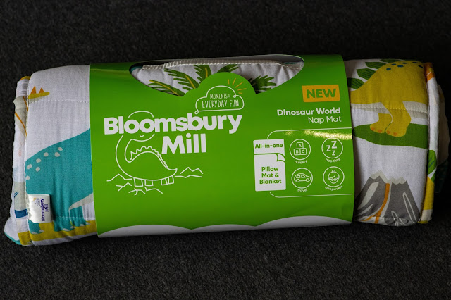 Bloomsbury Nap Mat rolled up in packaging