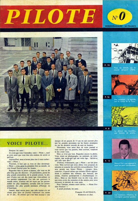 Pilote magazine No. 0 / October 1959