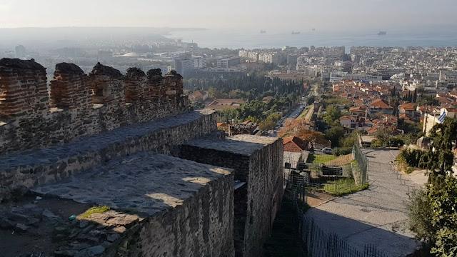 סלוניקי, מבט ממגדל טריגוניו