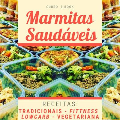 Curso Online de Marmitas Saudáveis Congeladas - Fitness, lowcarb e vegetariana - Faça sua renda na cozinha