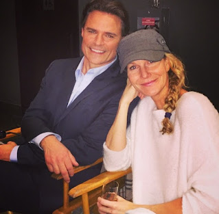 Becky Southwell with her spouse Dylan Neal