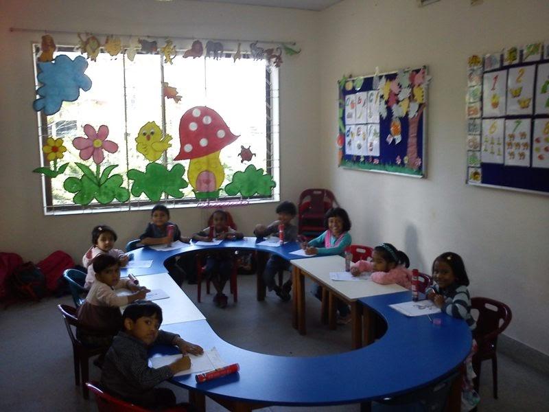 Iths Bogra Branch Nursery Class Room Activities