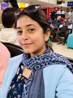 Deeplina Deka without makeup