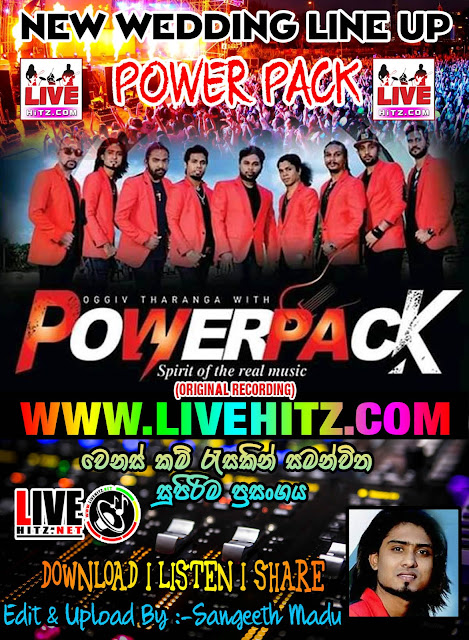 POWER PACK NEW WEDDING LINE UP 2019