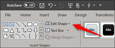 Cara Mengubah Shape Menggunakan Edit Point Di Microsoft PowerPoint