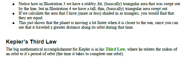 Kepler law for Planetary motion,kepler first law,keplar second law,