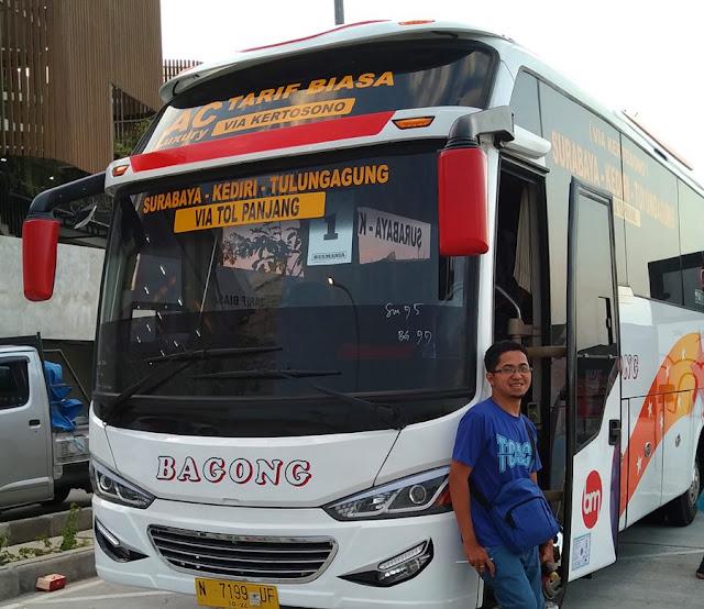 Bus Bagong Surabaya Tulungagung