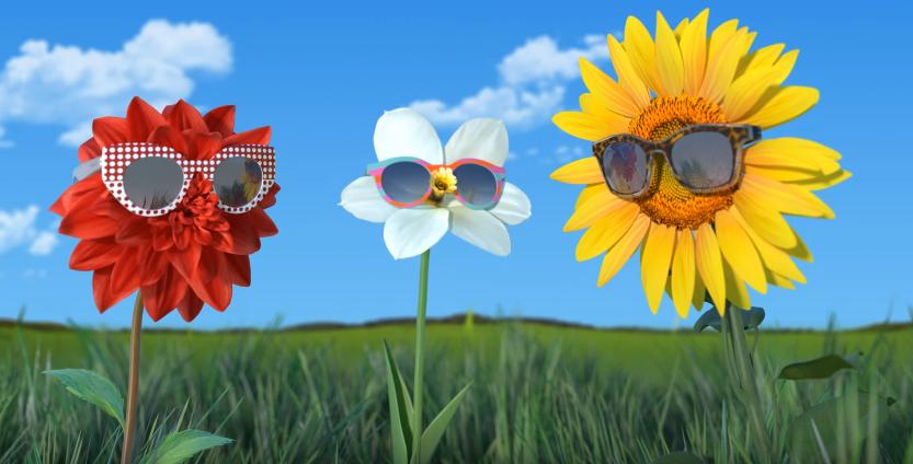 Canzone Swatch the Eyes pubblicità con fiori con gli occhiali - Musica spot Novembre 2016