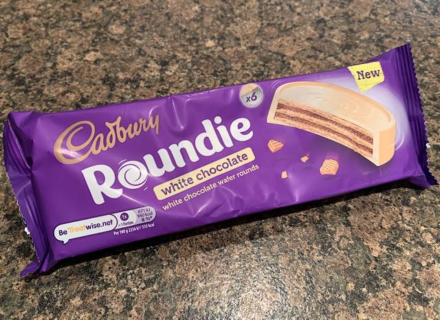 Cadbury White Chocolate Roundie