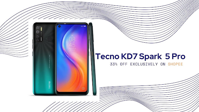 Tecno KD7 Spark 5 Pro