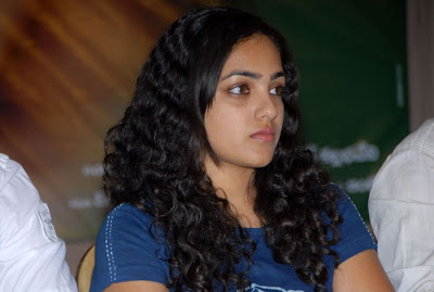 Nitya Menon at Sega Press meet