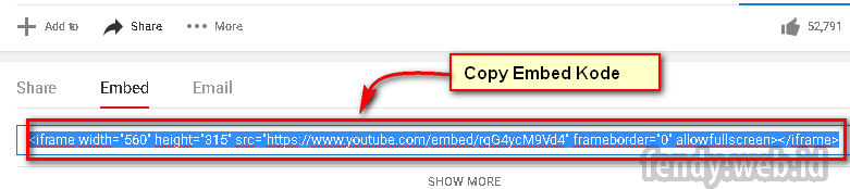 Cara Menampilkan Video Youtube Pada Postingan WordPress