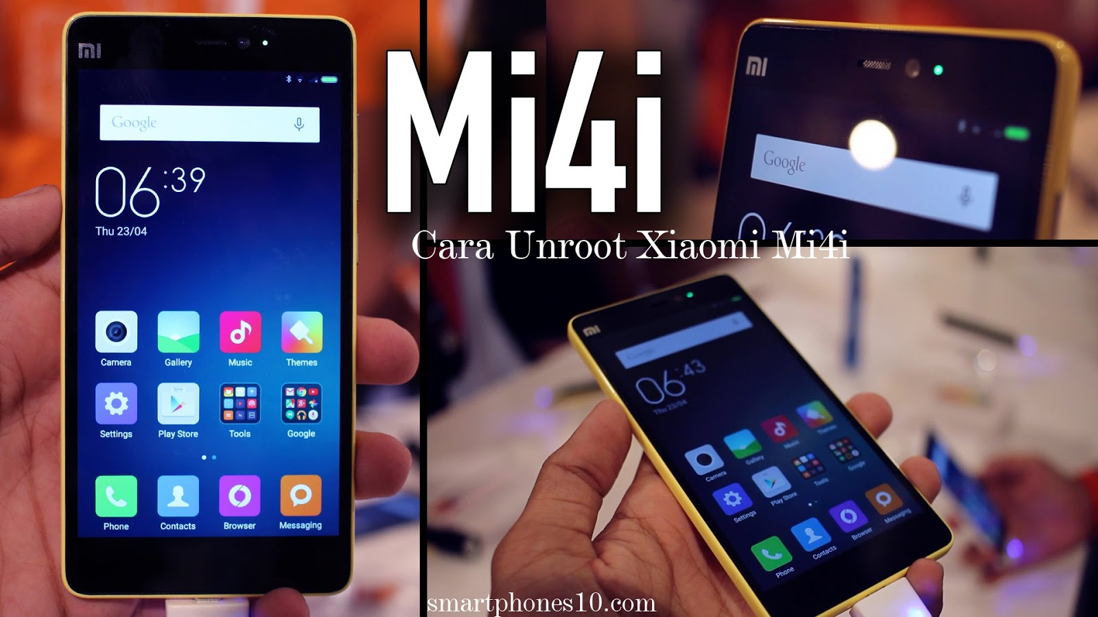 Cara Unroot Pada Smartphone Android Xiaomi Mi4i