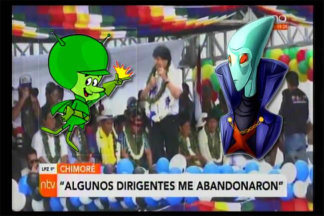 """Nueva """"EVADA"""" de Evo Morales, asegura que su lucha es INTERPLANETARIA"""