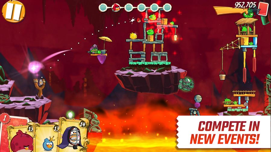 download Angry Birds 2 MOD APK 2.37.0 (Unlimited Money/Energy) Terbaru 2020 3
