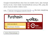 Cara Submit atau Kirim Artikel ke Search Engine Google