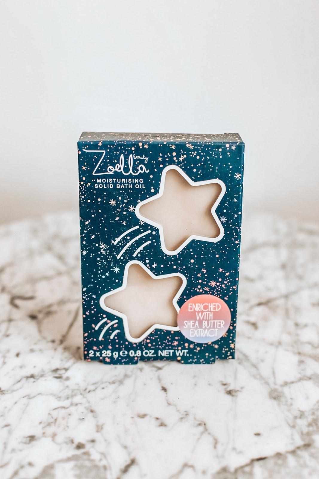 Zoella moisturising solid bath oil