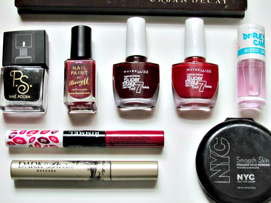 2015 beauty favourites, primark beauty, barry m, maybelline super stay nail polish