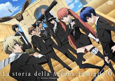 تحميل ومشاهدة جميع حلقات انمي Arcana Famiglia مترجم عدة روابط